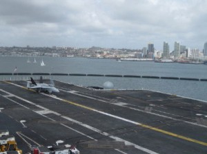 Tour of the Aircraft Carrier USS Ronald Reagan.
