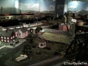 Exhibit at the Model Railroad Museum