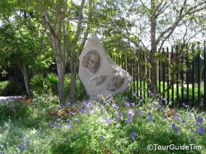 Outdoor Shakespeare Statute