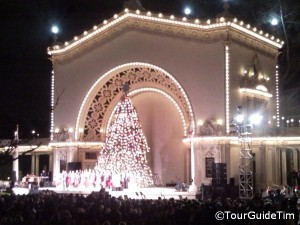 Holiday concert in Balboa Park
