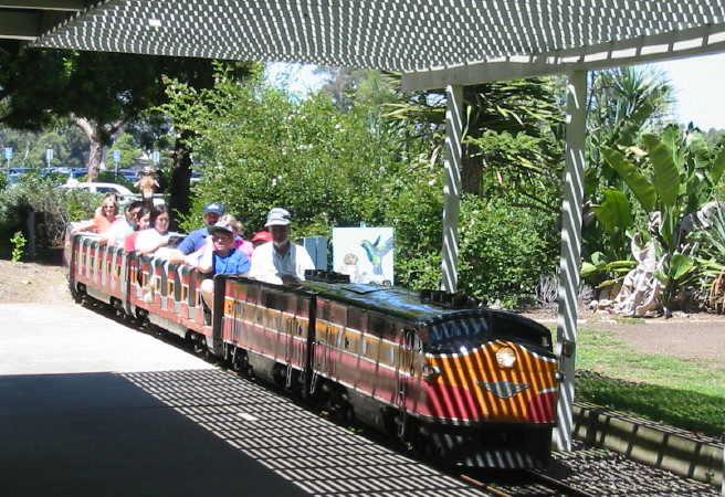 Rideable Model Trains http://tourguidetim.com/balboa-park-miniature-railroad/