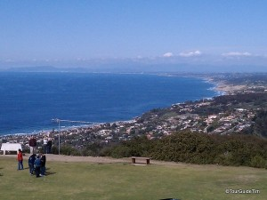coastal view atop mount soledad