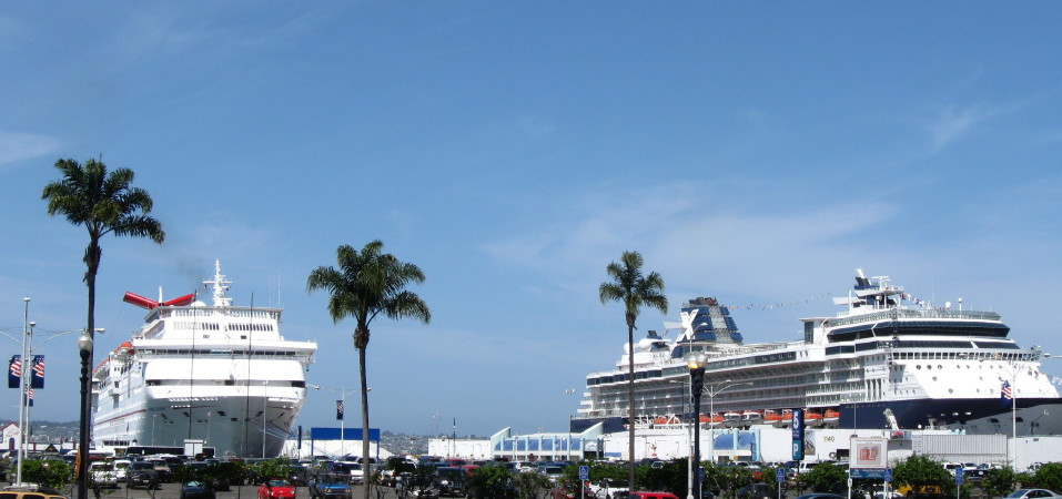 Port Of San Diego Start Of Cruise Season Longshore - Where do cruise ships dock in san diego
