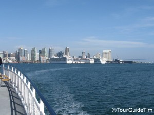 Downtown View from a San Diego Harbor Tour