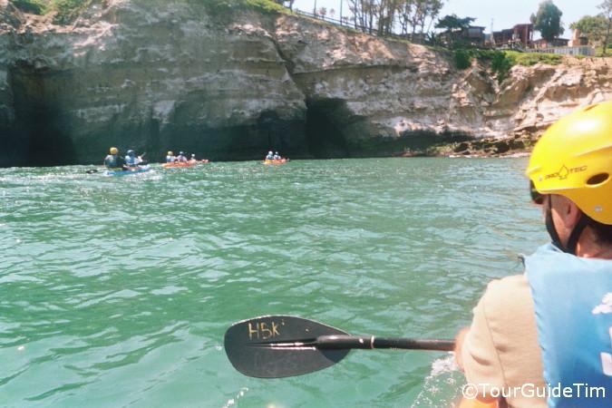 Kayaking In La Jolla Shores Tourguidetim Reveals San Diego