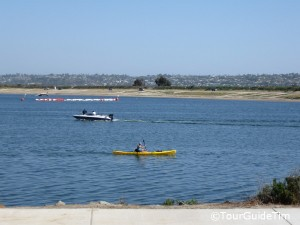 Kayaking on Mission Bay