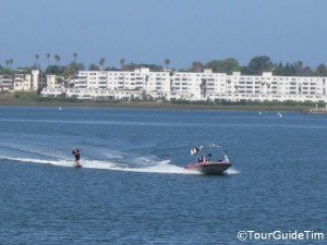 Water Skiing on Mission Bay