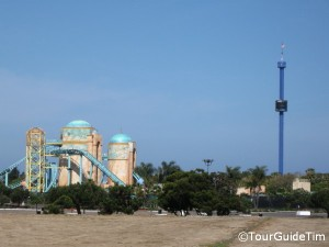 Sky Tower ride at SeaWorld San Diego
