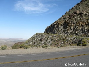 Mountain Pass into Borrego Springs