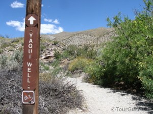 Hiking Trail in the Anza-Borrego Desert