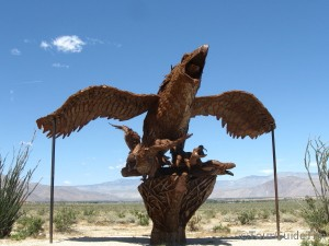 Eagle statute in Galleto Meadows