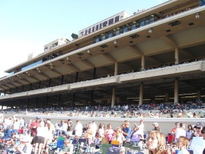 Crowds at Del Mar Races