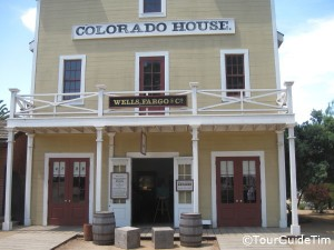 Wells Fargo Museum in the Colorado House