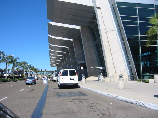 San Diego International Airport code (SAN)