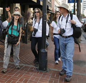 Photograhy tour in Gaslamp Quarter