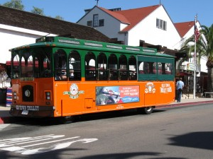 Old Town Trolley Tour bus