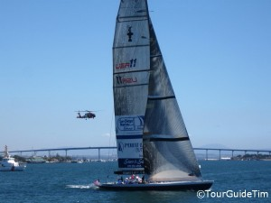 Sailing tour of San Diego