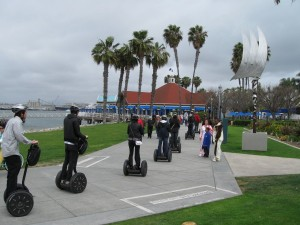 San Diego Segway tour at Coronado Ferry Landing