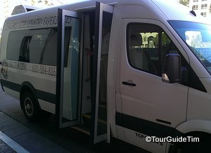 Wine tour Mercedes Sprinter bus